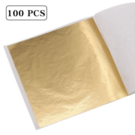 Shiny Gilding Taiwan Gold Leaf Sheet