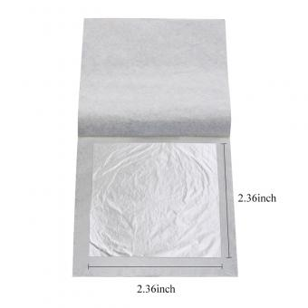 Edible FDA Silver Leaf Sheets